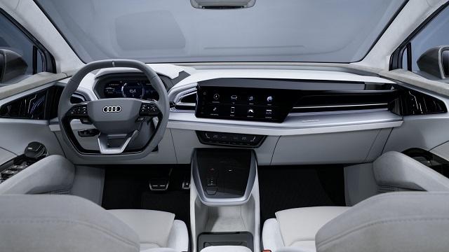 2022 Audi Q4 e-tron Interior
