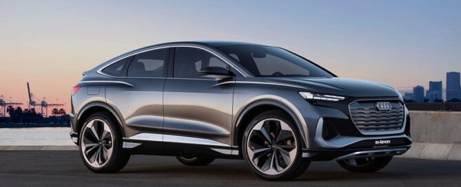 2022 Audi Q4 e-tron featured