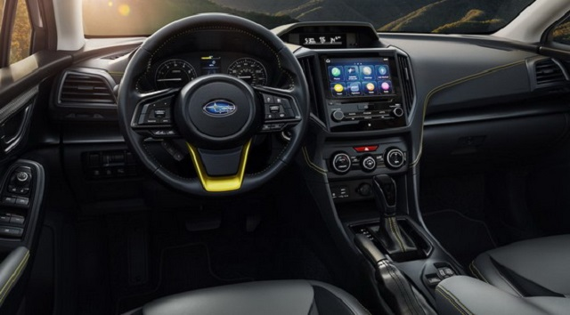 2022 Subaru Crosstrek Interior