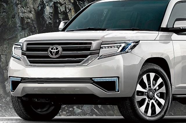 2022 Toyota Land Cruiser front