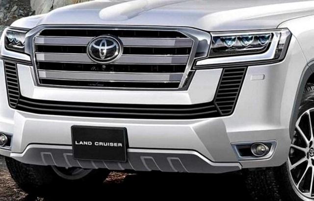 2022 Toyota Land Cruiser redesign render