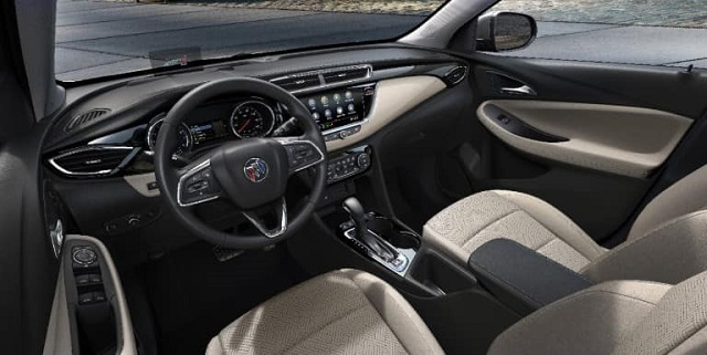 2022 Buick Encore GX interior