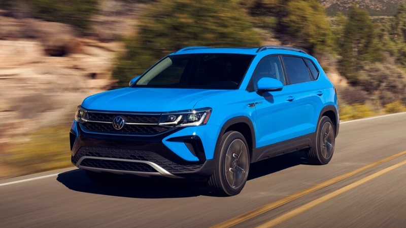 2022 VW Taos features