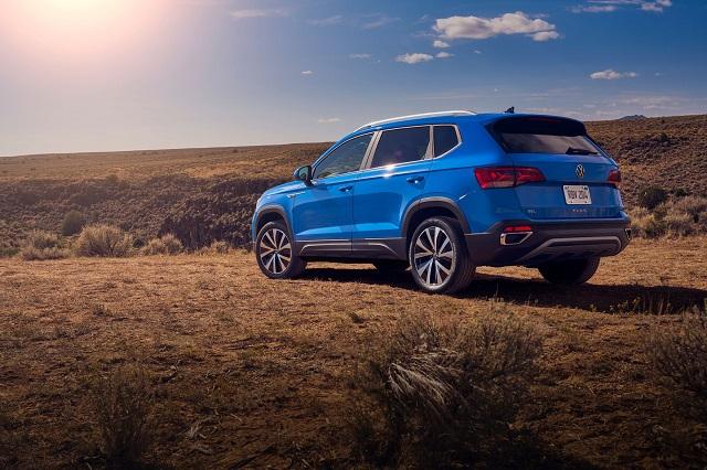 2022 VW Taos release date