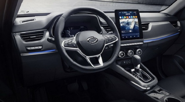 2021 Renault Arkana Interior