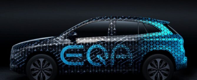 2022 Mercedes Benz EQA featured