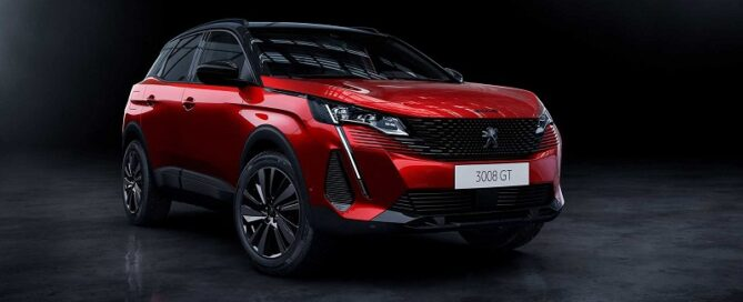 2022 Peugeot 3008 featured