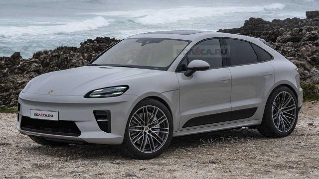 2022 Porsche Macan EV render