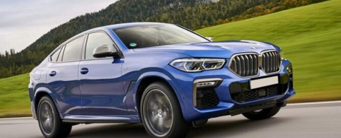 2022 BMW X6 featured