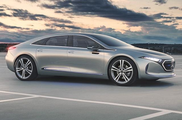 2022 Mercedes Benz EQE Render