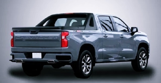2022 Chevy Avalanche render rear