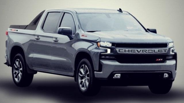 2022 Chevy Avalanche render