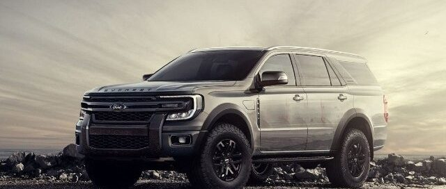 2022 Ford Excursion Rendering