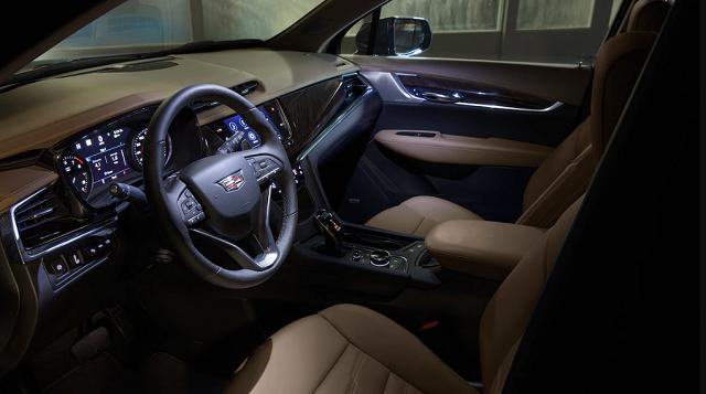 2022 Cadillac XT6 Interior