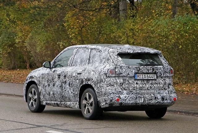 2022 BMW X1 Spy