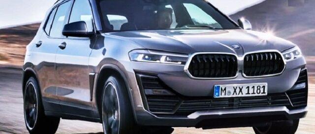 2022 BMW X1 render