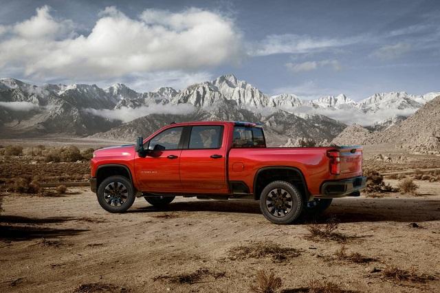 2022 Chevy Silverado 2500HD Diesel release Date