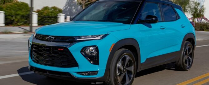 2022 Chevy Trailblazer featured