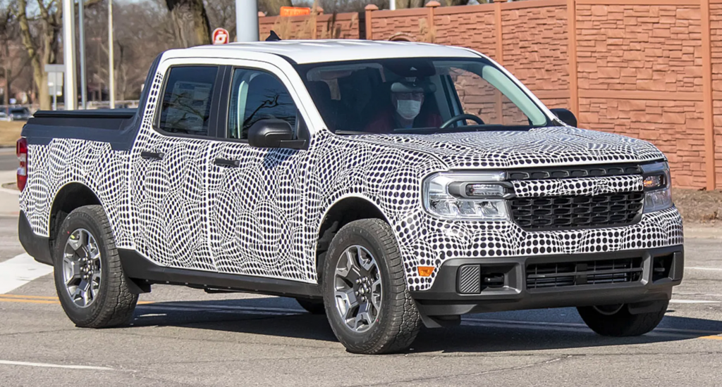 2022 Ford Maverick Spy Photo