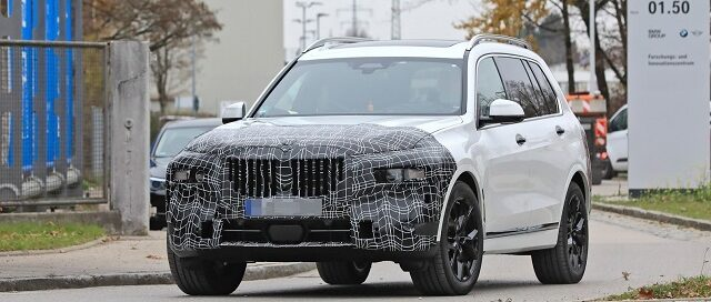 2022 BMW X7 Spy 01