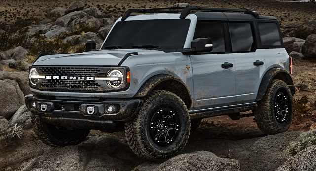 2022 Ford Bronco Release date