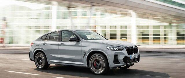 2022 BMW X4 refresh