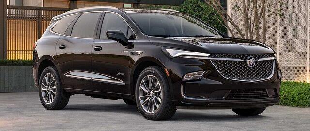 2022 Buick Enclave facelift