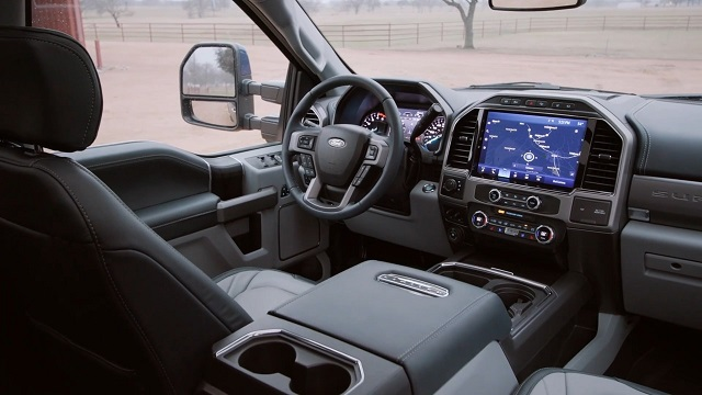 2022 Ford F-350 Interior