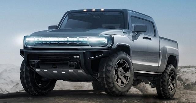 2022 GMC Hummer render