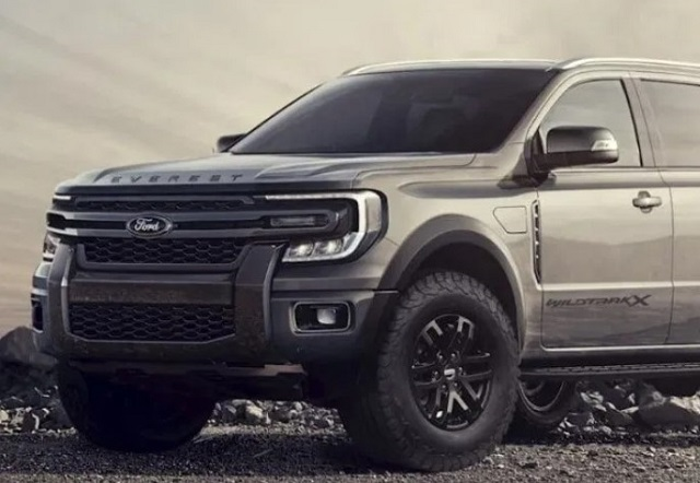 2022 Ford Everest featured